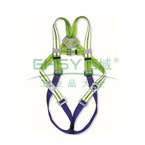 上海 高可视全身式单挂点安全带,60408F