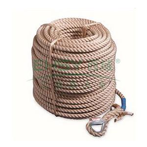 上海 16mm工作绳(三股绳),不含钩,50米,64108