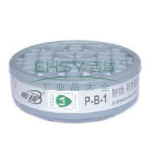 南核 9021 P-B-1滤毒盒1#,防护无机气体或蒸气,适用于8009,9006