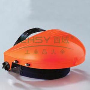 蓝鹰 B1OR ABS头盔支架(橘),旋扭调节,不含面屏