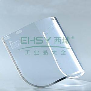 蓝鹰FC48T 1.5mmPC防护面屏附铝边,透明,不含支架