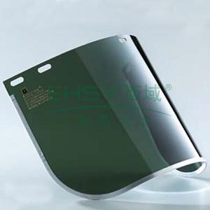 蓝鹰FC48G3 1.0mmPC防护面屏附铝边,浅绿,3#,不含支架