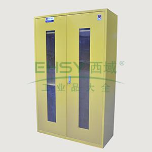 众御,紧急器材安全存储柜-黄色,双门可视窗,ZYEP01