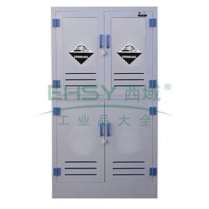 众御,酸碱试剂安全存储柜-灰色,双开门手动,无可视窗,ZYPM1800-1