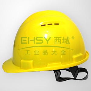 MSA 10159988 双威安全帽,PE,黄(易拉宝)