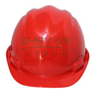 MSA 10159990 双威安全帽,PE,红(易拉宝)