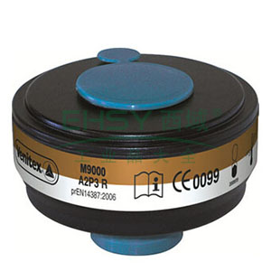 代尔塔M9000 A2P3R有机蒸汽+粉尘滤罐,105138