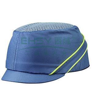 代尔塔102130 轻型透气防撞运动安全帽,灰色,帽檐3cm,20顶/箱