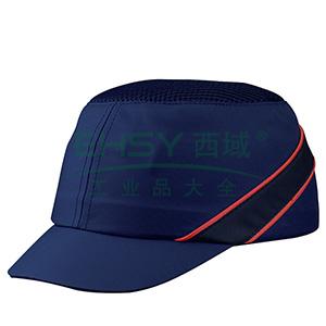 代尔塔102150 轻型透气防撞运动安全帽,蓝色,帽檐5cm,20顶/箱