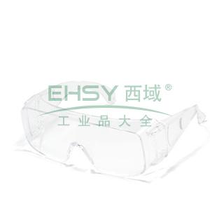 MSA 10113968 新宾特-CAF 防护眼镜(透明镜框 防雾防紫外线透明镜片)