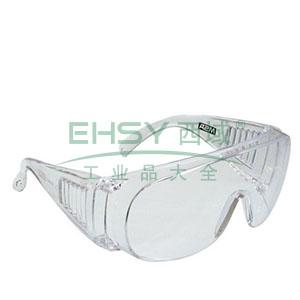 MSA 9913263 宾特-CAF防护眼镜(透明镜框 防雾防紫外线透明镜片)