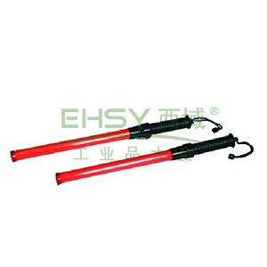 交通指挥棒:ф45X540mm,塑料,带灯