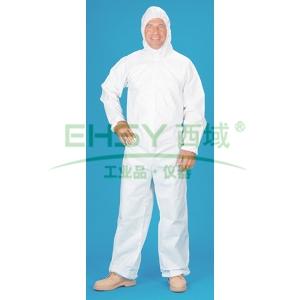 雷克兰 ESGP528-XXL 赛服佳SMS白色防化服,1件