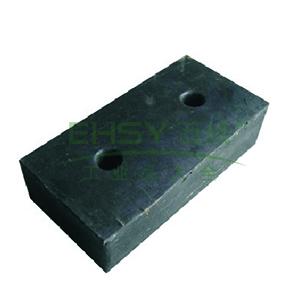 反光橡胶防撞块:长400X高200X100mm