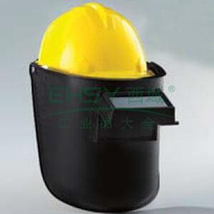 蓝鹰 6PA3 头戴式、搭配安全帽使用焊接面罩,含镜片(内槽为铝制)