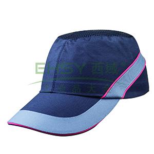 代尔塔102110-NO 透气型运动防撞帽,黑,帽檐7cm