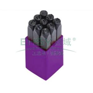 史丹利钢字冲,数字钢字码6mm(9件),58-304-24