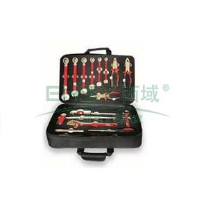 桥防 防爆组合套装工具,铍青铜,17件套,NO.H BE