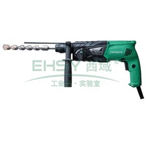 日立电锤钻,24mm 转速0-1050/min 锤击率0-3950/min,DH24PG