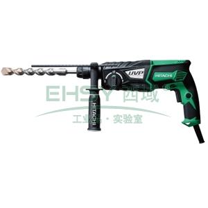 日立电锤钻,28mm 转速0-1100/min 锤击率0-4300/min,DH28PCY