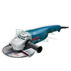 """博世角磨机,9""""/230mm大盘型 6500转/分钟 2400W,GWS 24-230H,0601884183"""