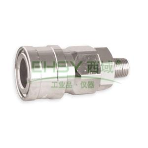 """JPE外螺纹插座,外牙PT1/4"""",碳钢,AFE-22SM-R"""