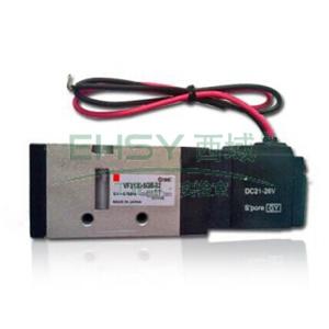 "SMC电磁阀,二位五通单电控,Rc1/8"",DC24V,VF3130-5G1-01"