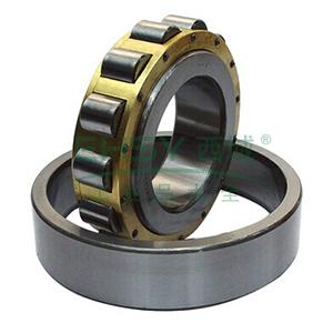 哈轴单列圆柱滚子轴承,内径*外径*宽40*80*18,NU208EM