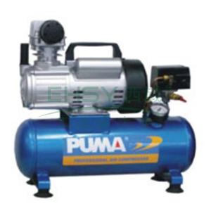 巨霸活塞式空压机,有油直接式,单相,0.13 m³/min,AX2008