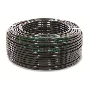 山耐斯PU气管,黑色,Φ12×Φ8,100M/卷,PU-1280-6/100M
