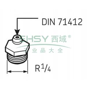 SKF自动润滑器润滑脂喷嘴G1/4 ,LAPG 1/4