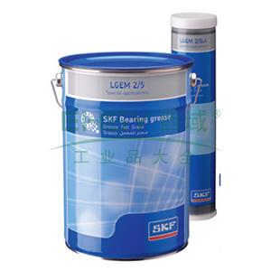 SKF轴承润滑脂,LGEM 2/0.4