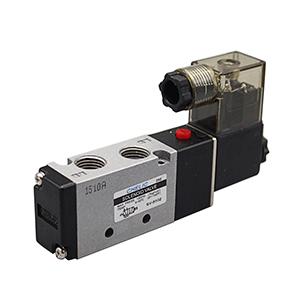 气立可电磁阀,2位5通单电控,标准插座型附指示灯,SV-6102-220VAC-L