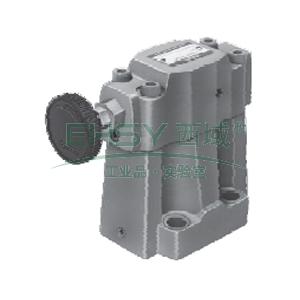 油研低噪音溢流阀,最大流量100L/min,S-BG-03-L-40