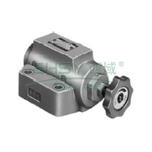 榆次油研 节流阀,额定流量30L/min,板式连接,SRG-03-50