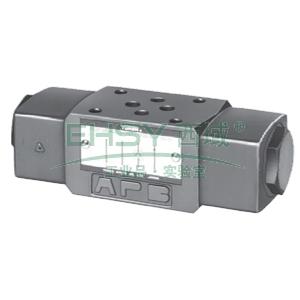 榆次油研 叠加式液控单向阀,MPA-01-4-40