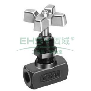 榆次油研 直通式针阀,GCT-02-31