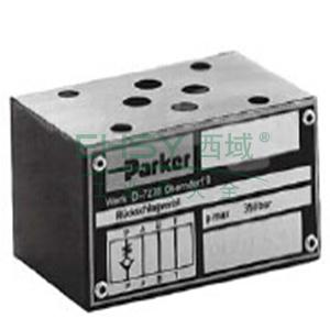 Parker,叠加式单向阀,CM系列,CM2PPV
