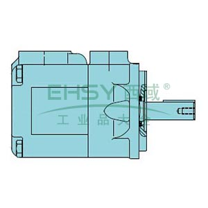 派克Parker 单联定量叶片泵,024-76349-000Z