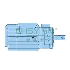 派克Parker 双联定量叶片泵,重载轴,024-50551-000S