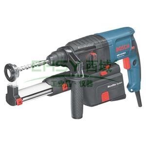 博世电锤钻,2.9kg四坑可调速正反转,带集尘盒 710W,GBH 2-23REA,0611250580