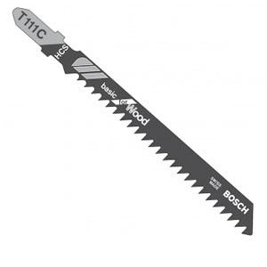 博世曲线锯条,经济效益型(工具钢) T111C (5) 5条/包,2608663008