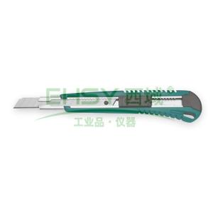 世达美工刀,塑柄推钮 13节9x80mm, 93426