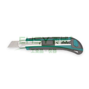 世达美工刀,橡塑柄推钮 8节18x100mm, 93428
