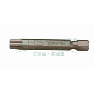 世达5件装6.3mm系列50mm长花型旋具头T-8,59331