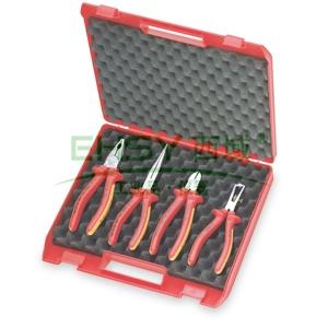 凯尼派克绝缘工具套装,4件套紧凑型, 00 20 15