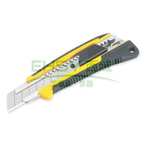 田岛美工刀,双色手柄 重型 22mm x 100mm 自动锁定, LC640B