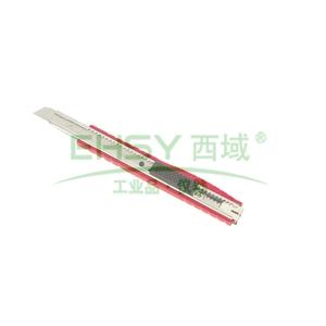 力易得美工刀,金属柄 9mm,E7002