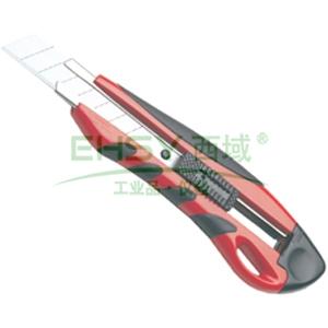 力易得美工刀,橡塑柄 18mm,E7004