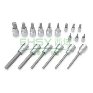 史丹利六角旋具套筒,16.3mm&12.5mm系列18件套,91-942-22
